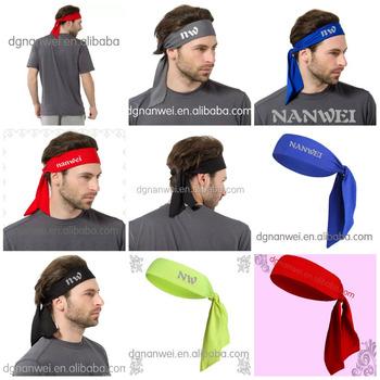 wholesale fashion Customize running fitness headbands custom lycra yoga  sport headbands ed19628b0