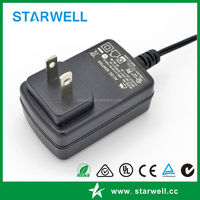 SMS-01120100-S04US 12V 1A 2A 3A AC DC power adapter 12W - 36W