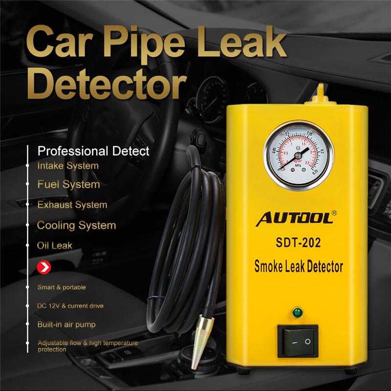 Autool SDT202 Универсальная автомобильная Evap/вакуумная дымовая диагностическая 11.jpg