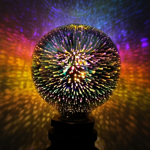 NEW PRODUCT Decorative ST64 A19 G80 G95 E27 decorative firework 3D led bulb