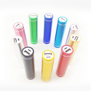 New design Cylinder Mobile powerbank RoHS Power Bank 2600mah Cylindrical Portable power pack