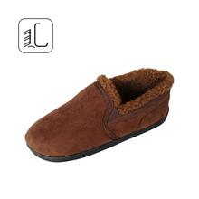 New arrival faux suede fabric fashion loafer men shoes casual shoe