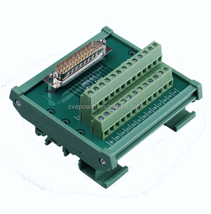 DB25 pin terminal board wiring module 25 core male relay adapter board relay adapter