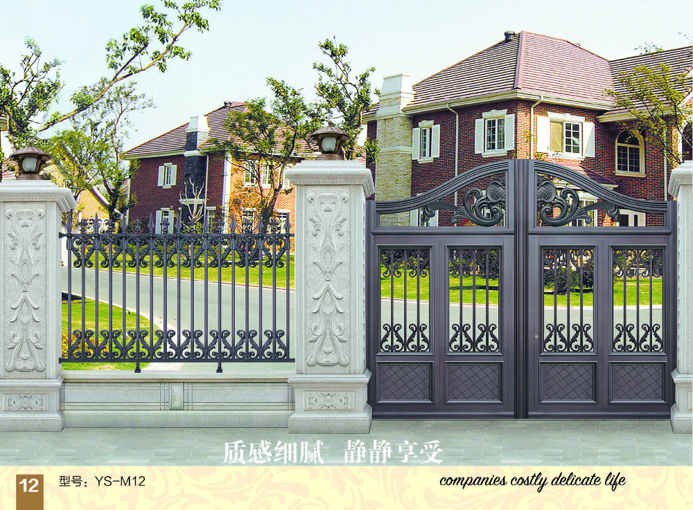 Sliding Wrought Aluminum Gate Entrance Gate Home Decor Of New Products Import Export Iron Gate