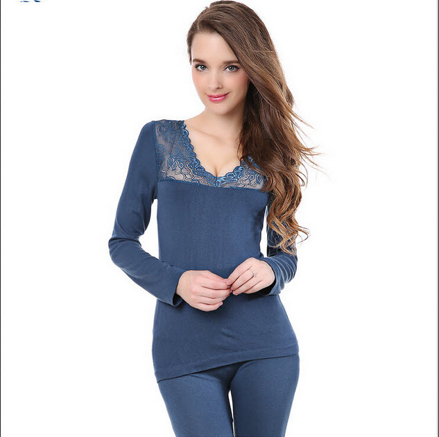 113e18b02fb Get Quotations · Sport Suit Real Sport Suit Women New 2015 Thermal  Underwear Women Sexy Modal V -neck