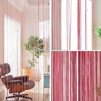 100cm*200cm Polyester Design Modern Fabric Door Curtain Wear Rod ...