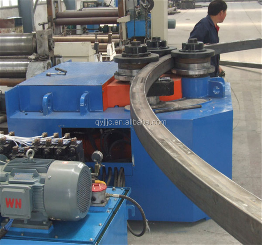 Stainless Steel Hydraulic Pipe Bender : Best quality stainless steel square tube bending machine