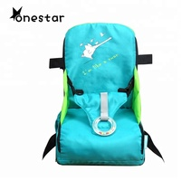 outdoor travel portable dining baby high chair foldable booster seat for kids folding chair feeding chair