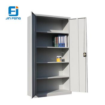 Large Steel Double Swing Door Storage Filing Cabinet