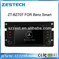 ZESTECH HD Touch screen in dash car dvd for Mercedes Benz Smart fortwo 2010-now with GPS PIP 6 DISC Radio Bluetooth iPod TV