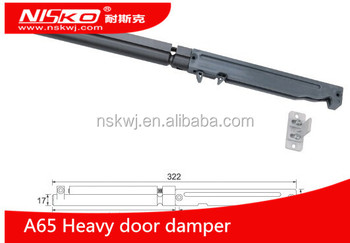 Heavy Duty Wardrobe Sliding Door Damper Soft Close System