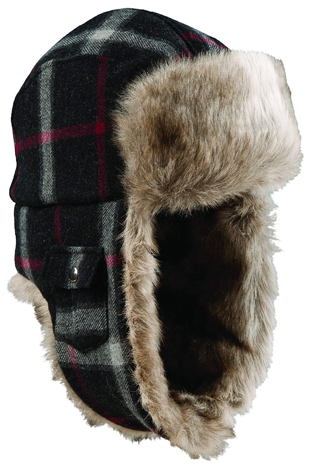 867bb5f315487 Buy Woolrich Wool Plaid Arctic Trapper Hat in Cheap Price on m ...