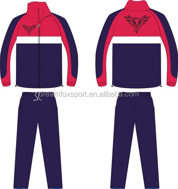 dccc726c27e Dreamfox Sportswear FactoryTraining Design Your Own Jogging Gym Tracksuit  Men wholesales running stripe black tracksuit
