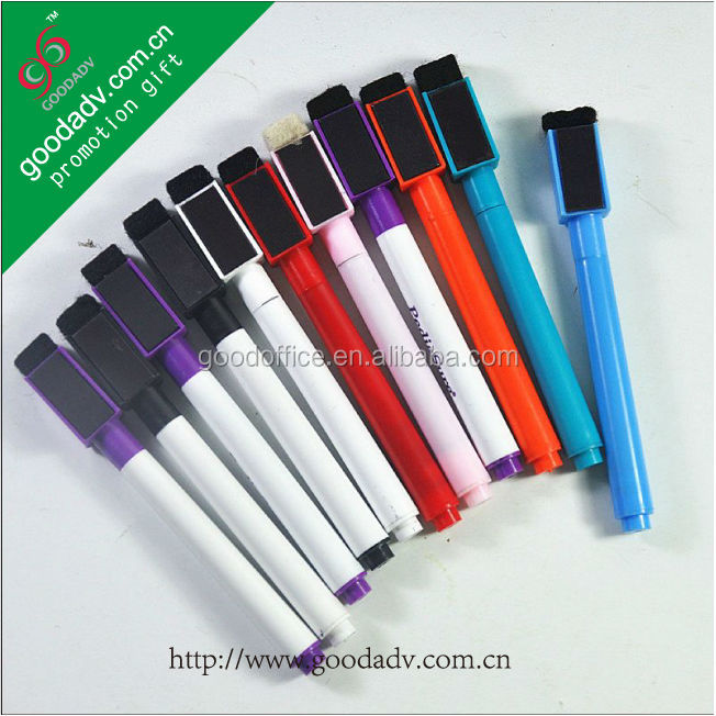 High quality Non-toxic full color printing magnetic marker pen