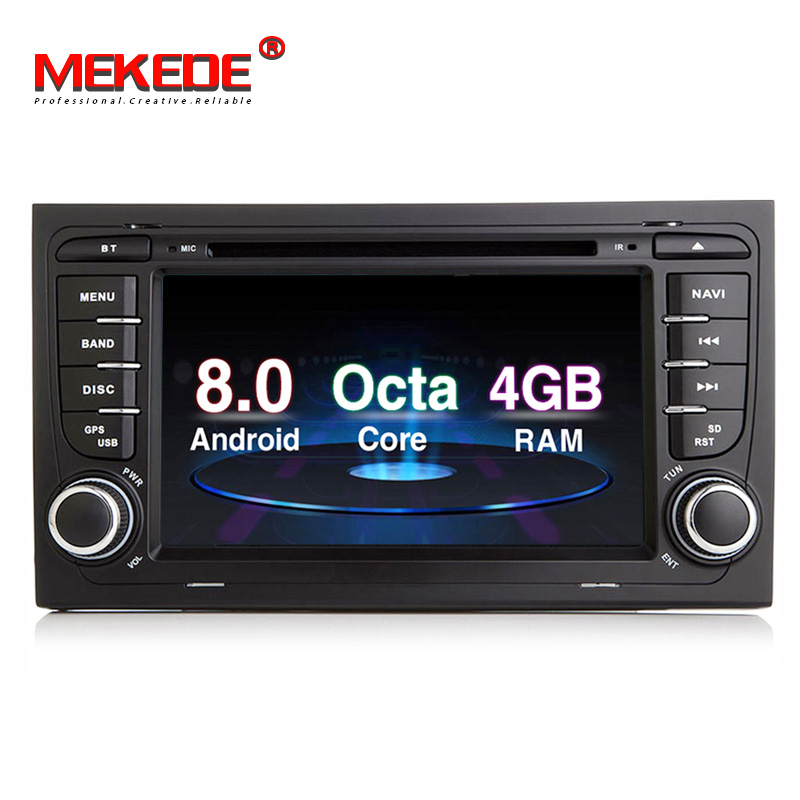 Mekede Px5 Android 9 0 Octa Core Android Car Dvd Player For Audi A4 B6 B7  S4 B7 B6 Rs4 B7 Seat Exeo With 4+32gb Wifi Gps Radio - Buy For Audi A4 B6  B7
