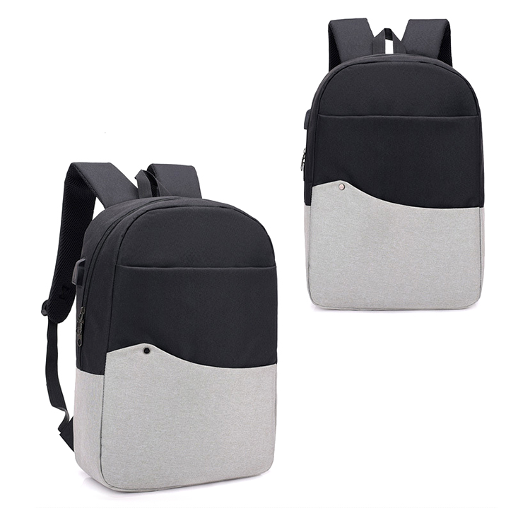 New polyester laptop business bag intelligent laptop bags backpack