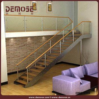 Escaleras Interiores Para Casas Pequeas L Forma Kit Voladizo