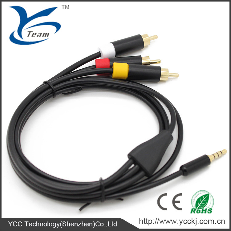 For XBOX 360 E AV Cable A/V Cable for XBOX 360 Elite
