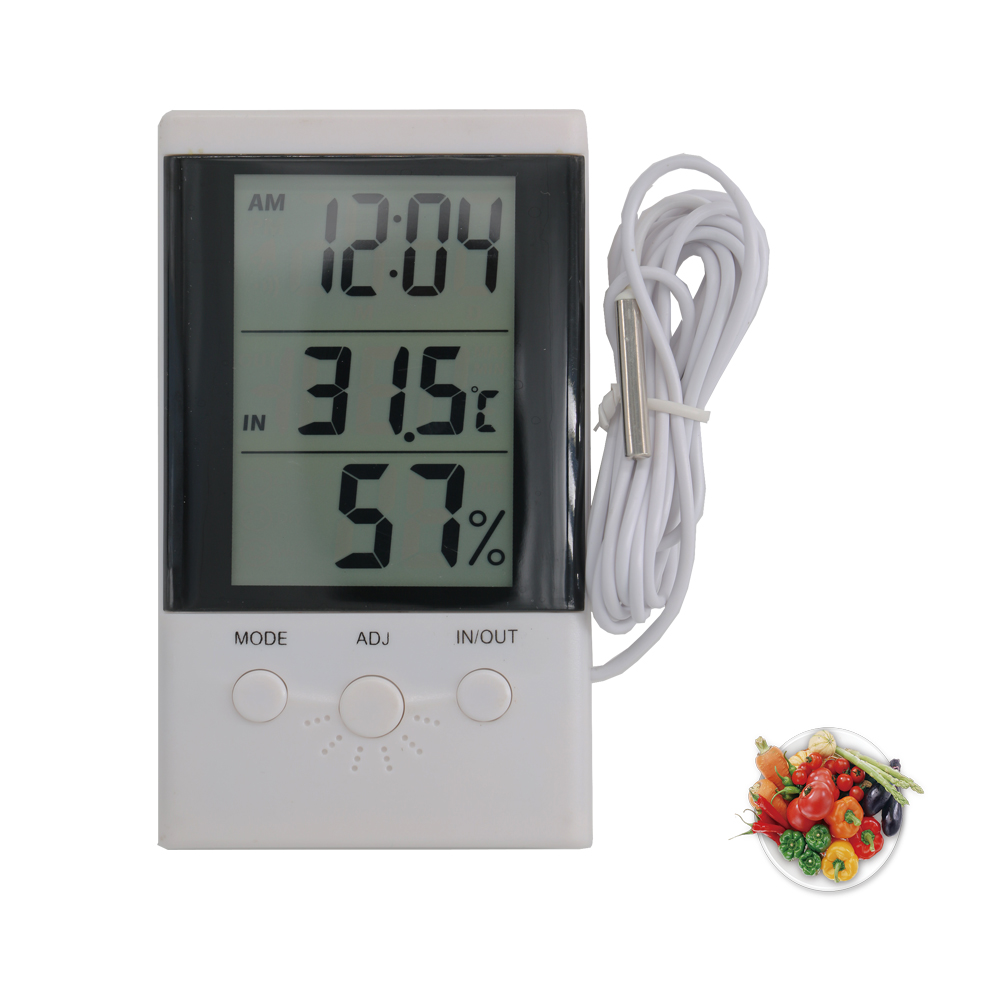 New Generation Custom Made Liquid Crystal Indoor Temperature and Humidity Measuring Meters