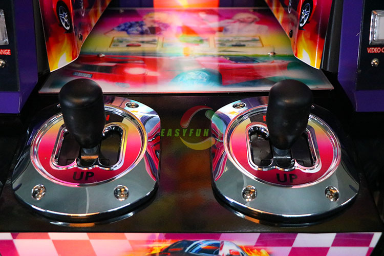 Coin Operated 2 Players Outrun Car Simulator Game Machine 3D Racing Car Games