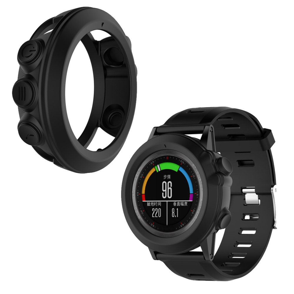 Tschick Case for Garmin Fenix 3 HR, [ Shatter-Resistant] Protective Cover Case for Garmin Fenix 3 HR/Quatix 3/Tactix Bravo фото