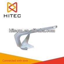 Hot dip galvanized bruce anchor for ship