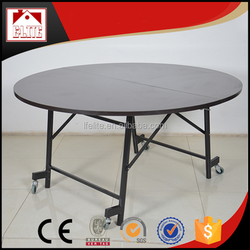Used Round Dining Table Cheap Folding Dining Table 1 8m Round Table
