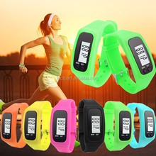 Candy Color Ultra Thin Men ladies Sports Silicone Digital smart LED bracelet wrist watch