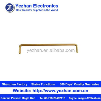 0 Ohm Current Sensing Brass Resistorjumper Resistor Buy Brass