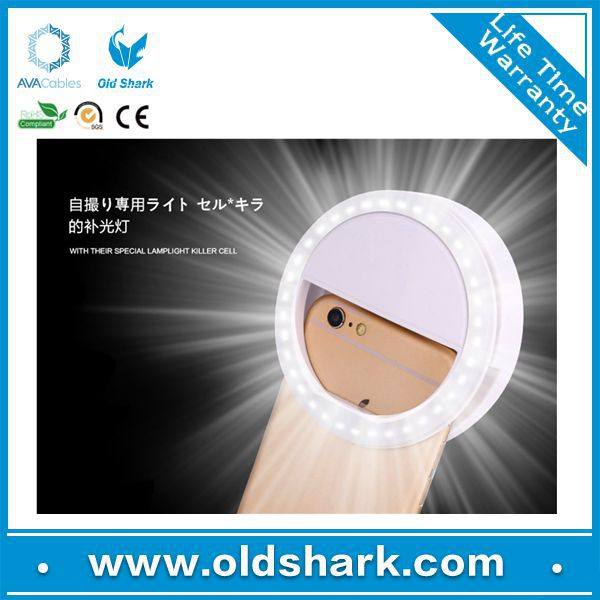 Selfie Ring Light with USB Charging Cable ,36 Led Bulbs ring light for All Smart Phone ,iPad and Laptop