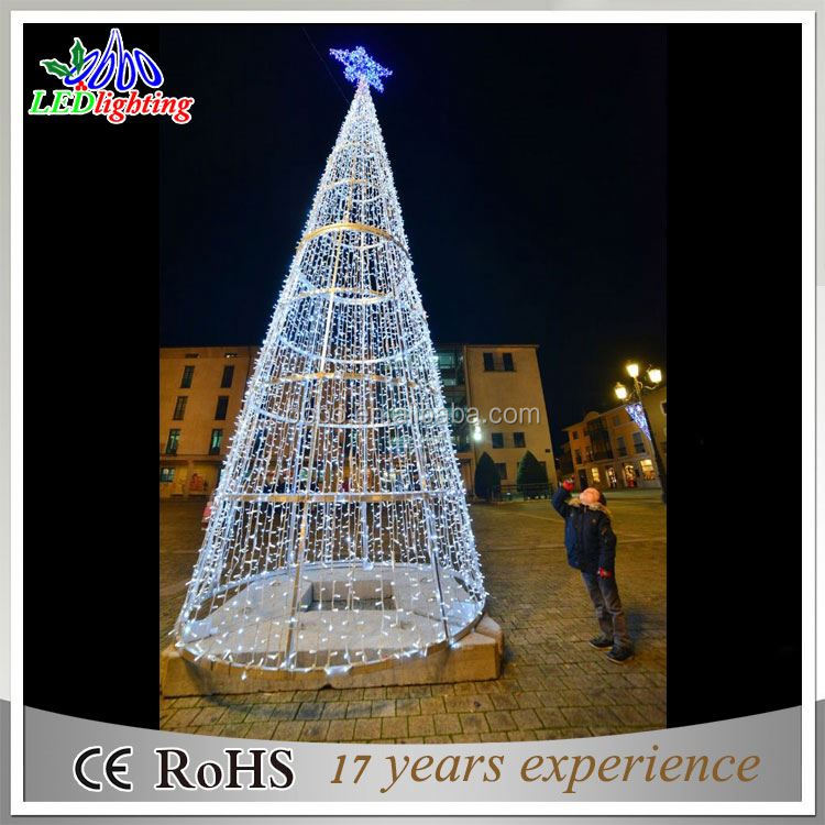 outdoor big pvc artificial giant christmas tree light outdoor big pvc artificial giant christmas tree light suppliers and manufacturers at alibabacom - Big Christmas Trees