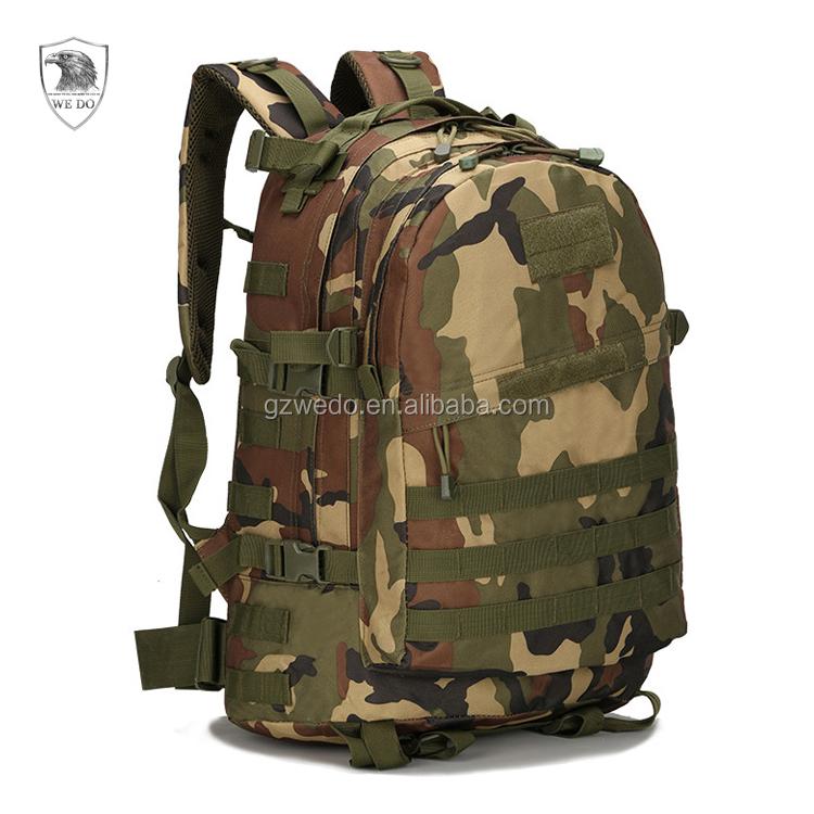 4 pc Digital Camo 600D Sac à dos Bug Out Bag Survie Militaire Tactique Jour Pack