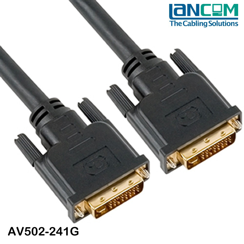 Lancom Factory price high quality scart to dvi cable
