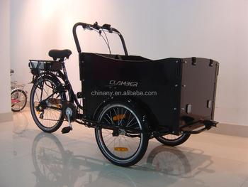 Ub 9019e 6 Speeds Power Assist Three Wheels Electric Cargo Bike ...