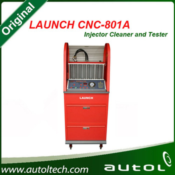 Launch Cnc801a 8 Jars Fuel Injector Cleaner & Tester Can Clean And Test  Injectors By Simulating Engine Working Conditions - Buy Cnc-801a,Launch