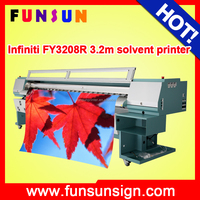 Infiniti FY-3208R SPT510/35pl double 4 color flex printer banner printer canvas printer