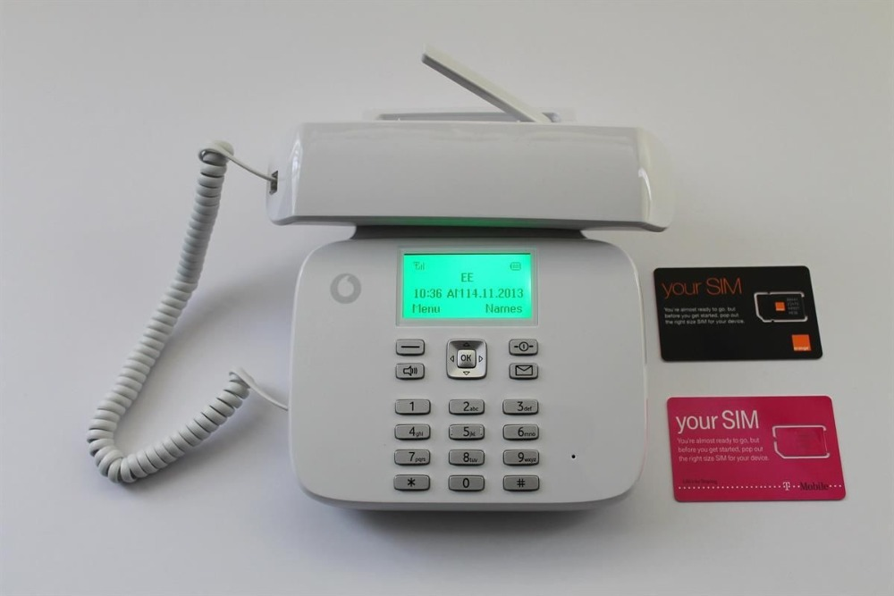 Unlocked Capetune N189 Vodafone Classic GSM/PSTN Land line Mobile Wireless Desktop Phone