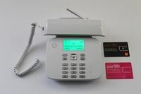 Unlocked Capetune N189 Vodafone Classic GSM/PSTN Land line Mobile Wireless Desktop Phone
