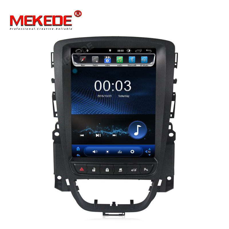 Tesla stile Android 8.1 2G + 16 GB Car DVD Player di Navigazione GPS per Opel Vauxhall Holden Astra J 2010-2013 multimedia car radio