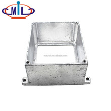 Extension Ring Adaptable Electrical Malleable Conduit Box