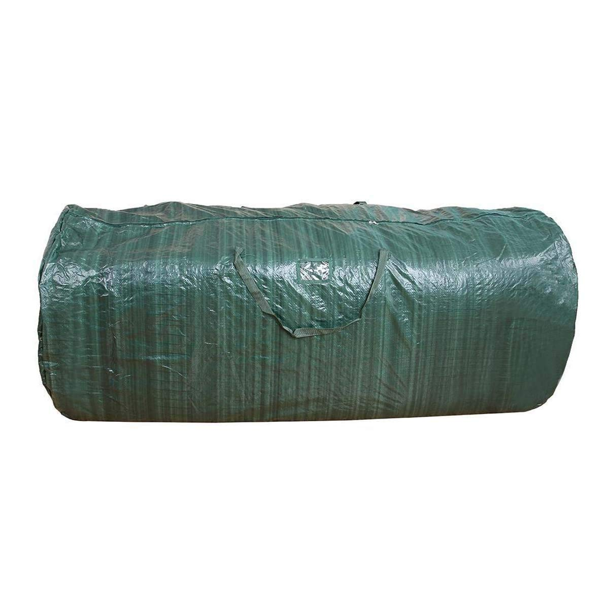 Christmas Tree Storage Bag Upright Deluxe Heavy Duty Holiday For 9 Ft.Trees - polypropylene (Dark Green)