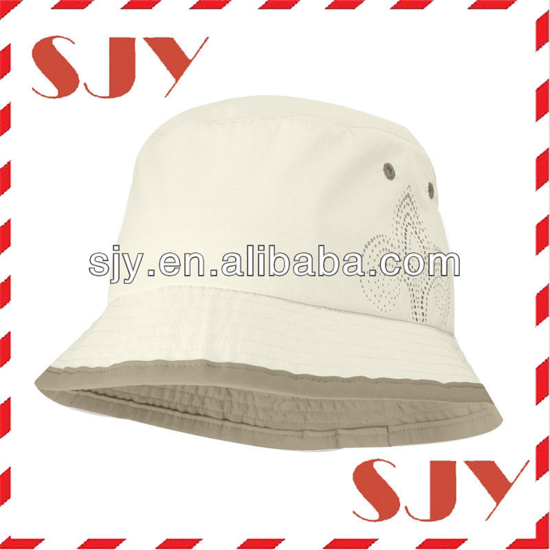 black and white trilby fedora wholesale blank bucket hat