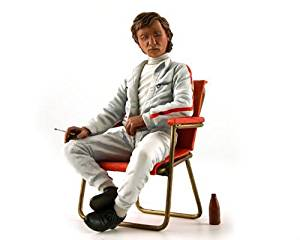 Jochen Rindt 1960's with Campsite Seat and Soda Bottle Figurine for 1/18 by Lemans Miniatures FLM180020