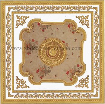 Luxury Square Ceiling Medallion Hall Ceiling Pop Design View Hall