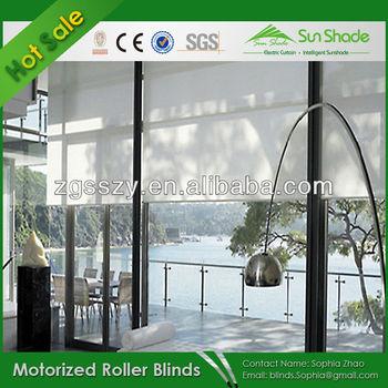 Adjustable Electric Roller Blinds/Window Shades/Indoor Roller Blinds
