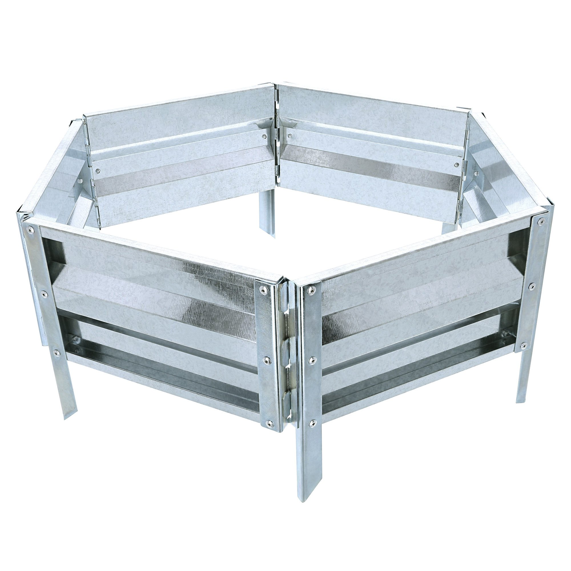 "Pure Garden (PURNC) 50-193 Raised Garden Bed and Plant Holder Kit, 21"" L x 9.75"" W x 5.5"" H"