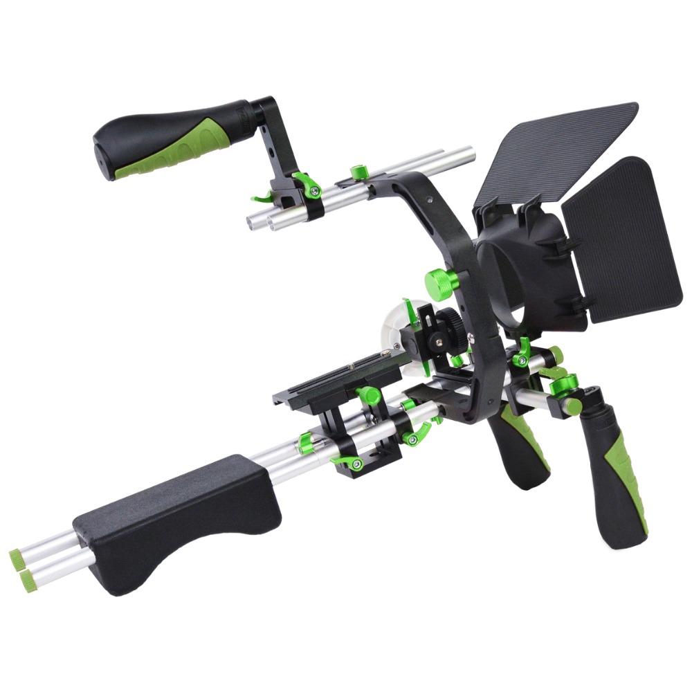 YELANGU D230 Shoulder Rig Professional Camera Support Equipment for DSLR and Video Camera