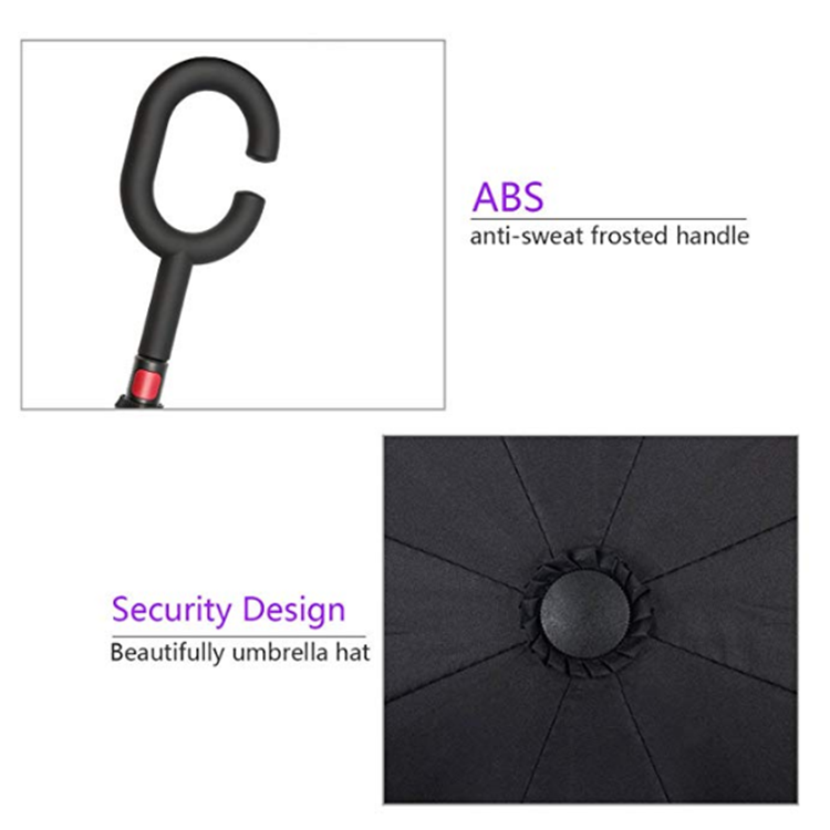High Quality Light Weight C Shape Handle Windproof Double