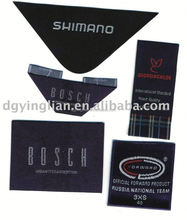 woven label weaving label woven patch woven badges main label brand label woven marks trade marks stuffed zipper pullers