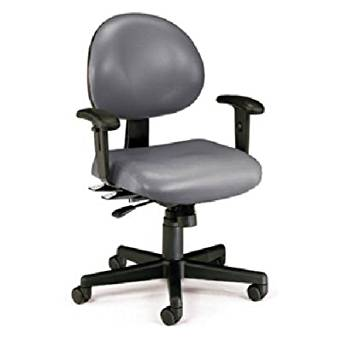 OFM 241-VAM-AA-604 24 Hours Anti-Microbial/Anti-Bacterial Vinyl Task Chair with Arms
